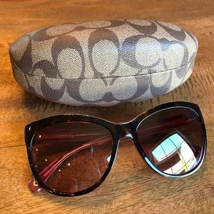 Coach Samantha Cat-eye Sunglasses